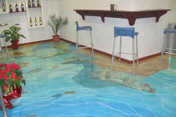 Сколько стоит наливной пол 3 d жидкая гидроизоляция enke